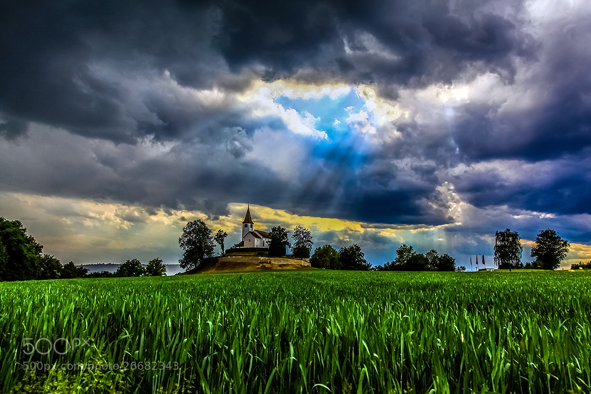Photograph Church by Marcel Baumgartner on 500px