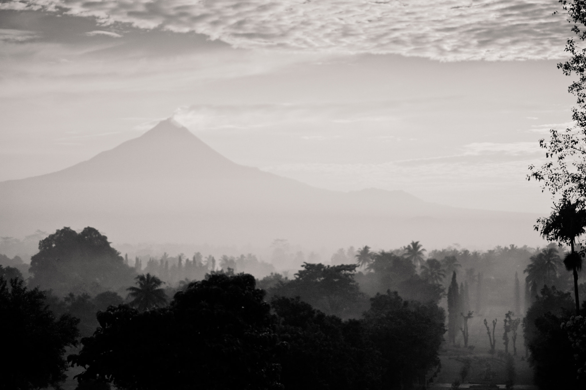 Photograph Merapi - study II - Java by Olivier Bergeron on 500px