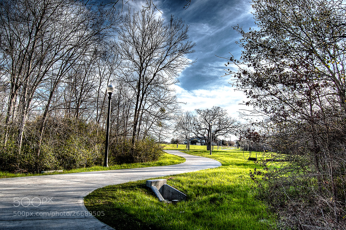 Photograph Wolf Pen Creek Park in February by Pratik  on 500px