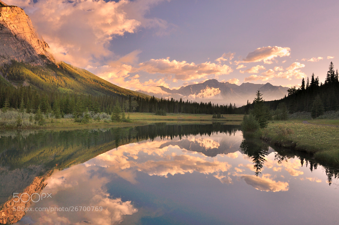 Photograph Cascade Pond - Banff 2 by Shuchun D on 500px