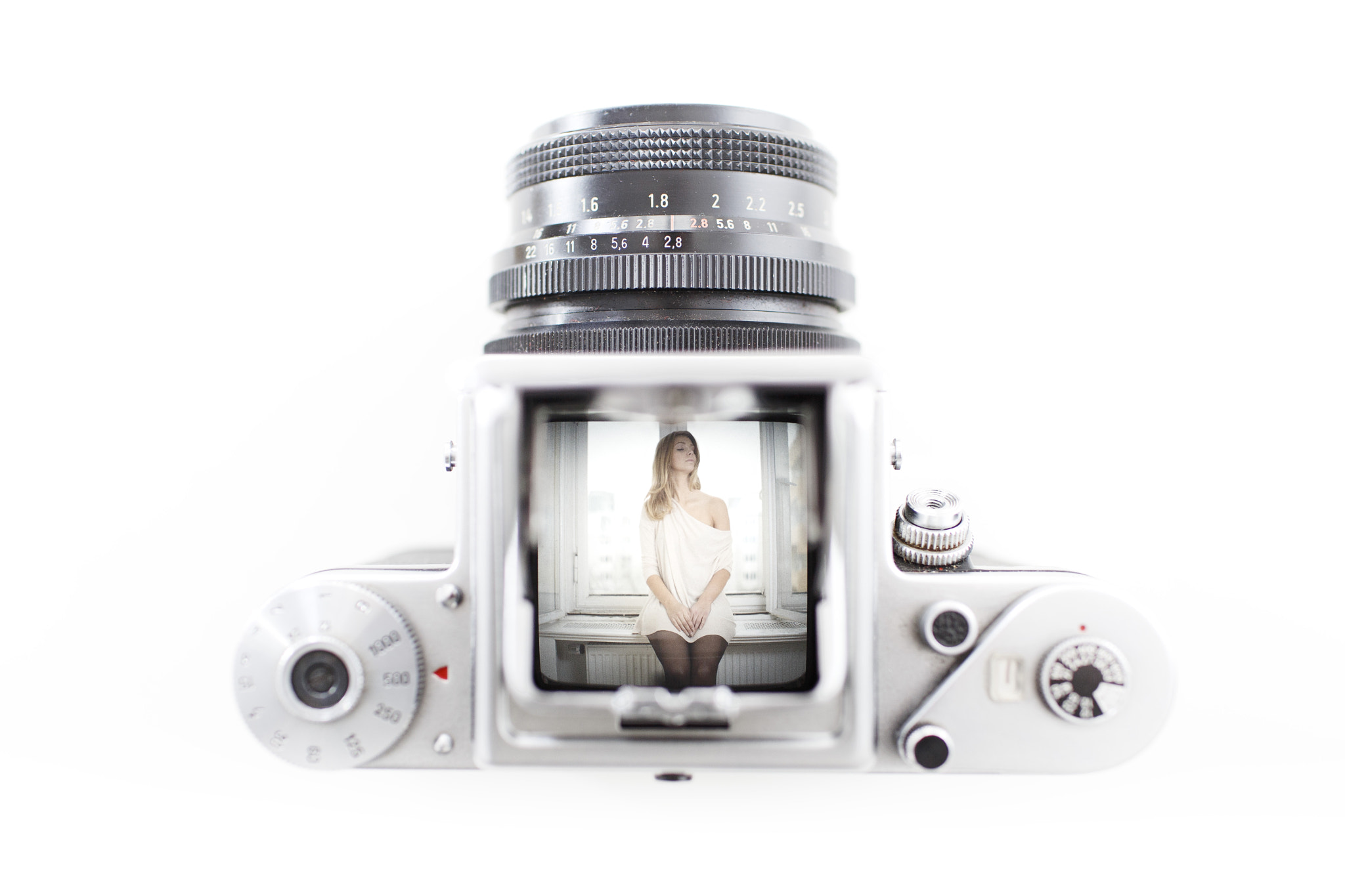 Photograph White viewfinder. by Thi Lo on 500px