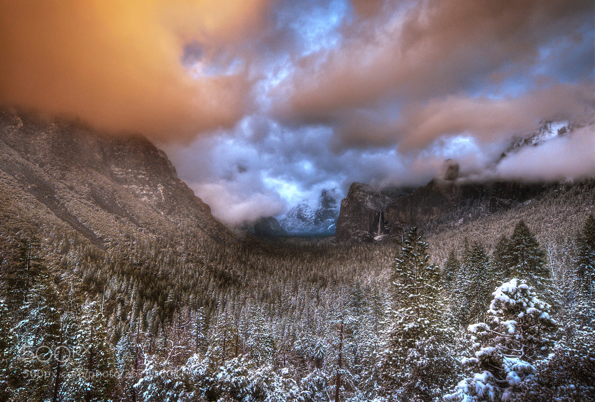 Photograph Winter Sunset In Yosemite by William McIntosh on 500px