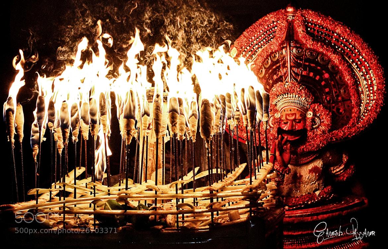 Photograph Kathivanoor Veeran Theyyam by Ganesh Payyanur on 500px
