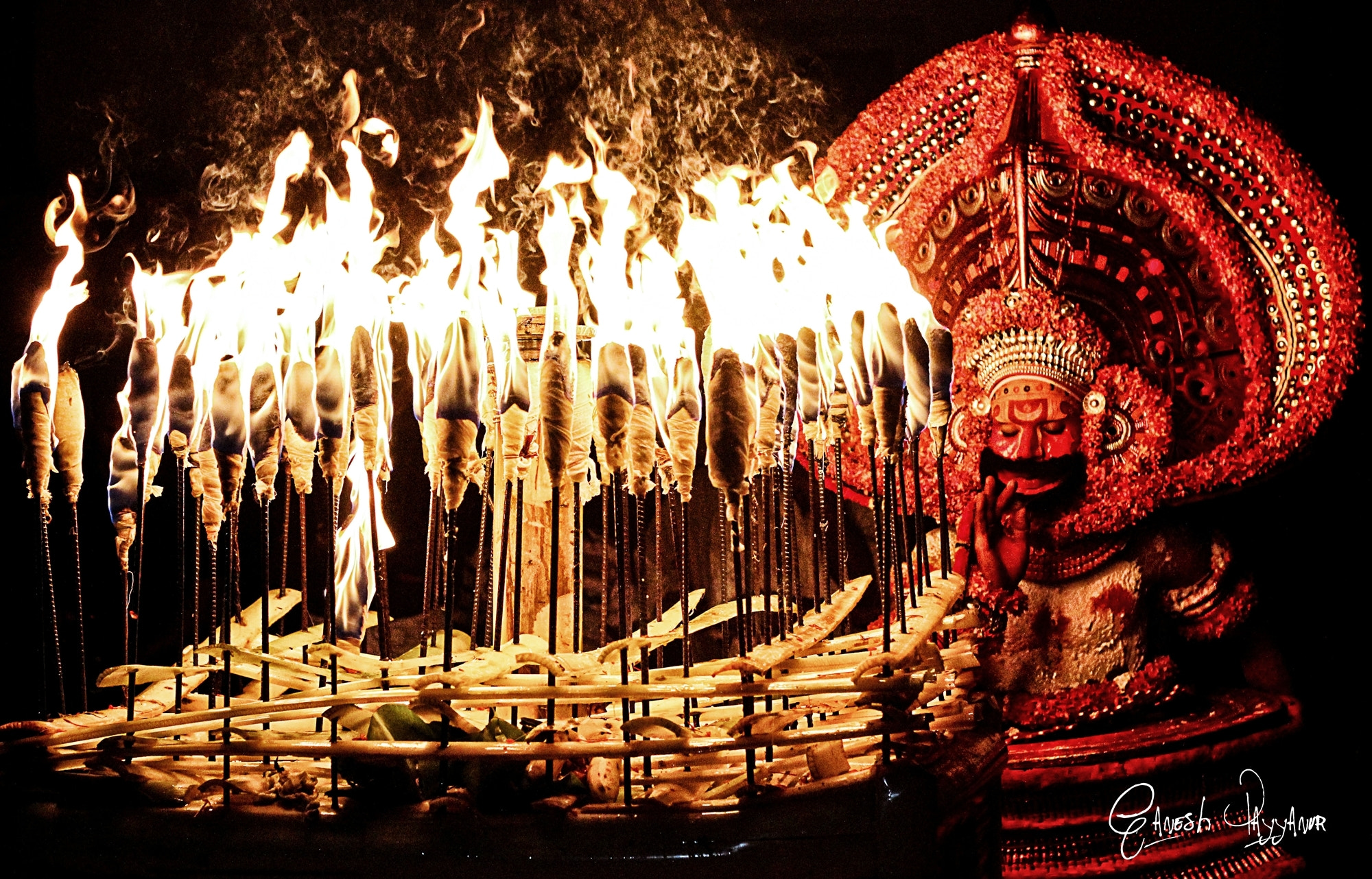 Photograph Kathivanoor Veeran Theyyam by Ganesh Payyanur on 500px