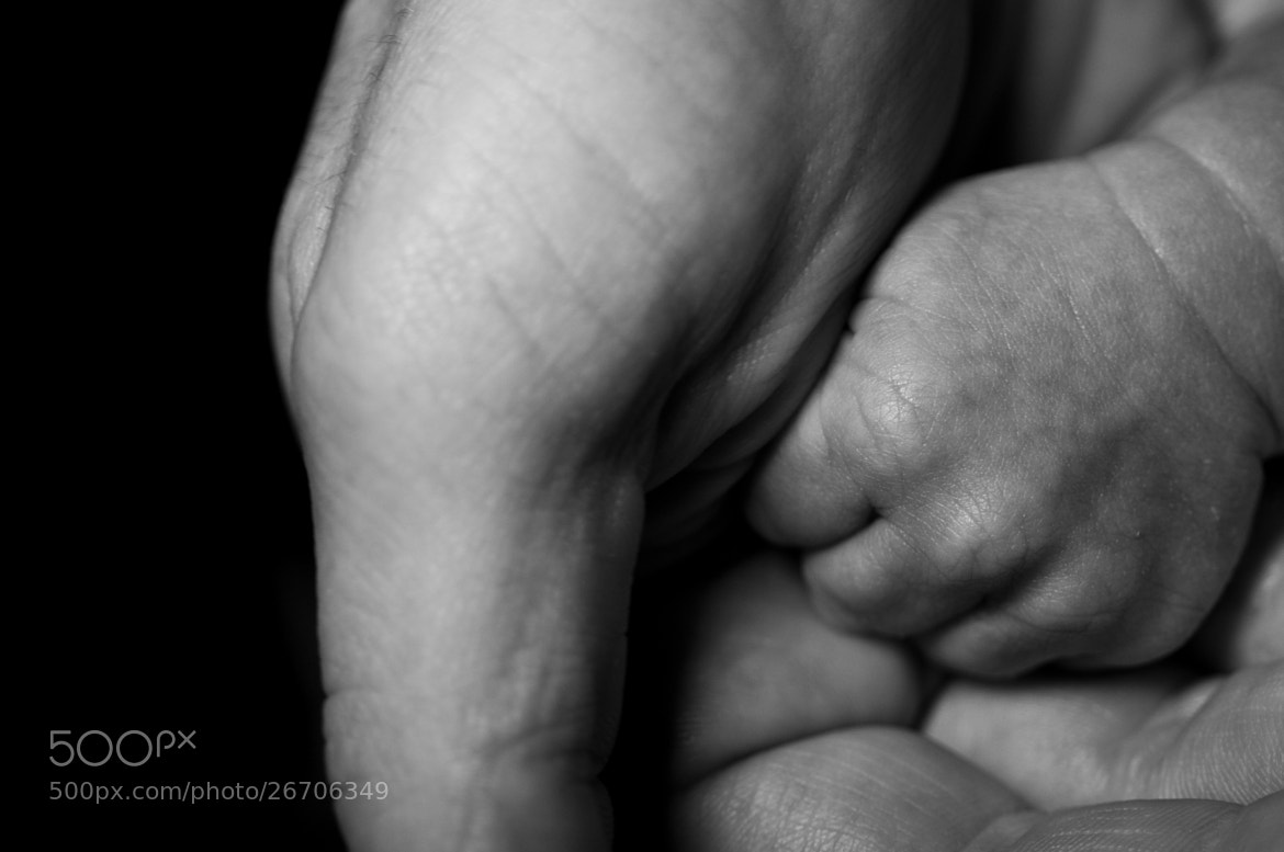 Photograph Grand baby's Hand by Glenn  McGloughlin on 500px