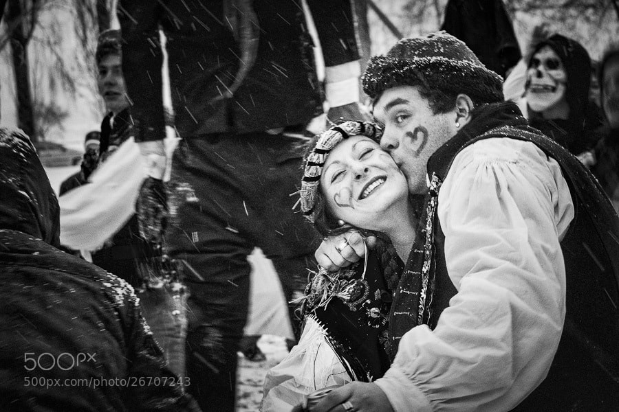 Photograph Carnival kiss by Stanislav Šebek on 500px