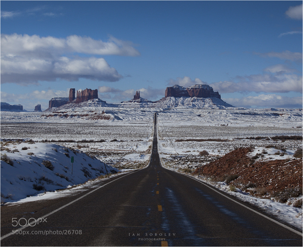 Photograph Road to Sisters by Evgeny Tchebotarev on 500px