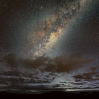 The Milky Way sits above the town of Mt Beauty as the sane are still tucked into their warm beds. 