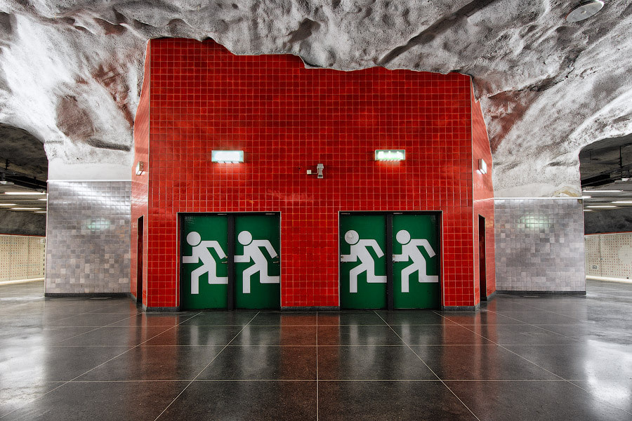 Photograph Emergency exit by Alexander Dragunov on 500px