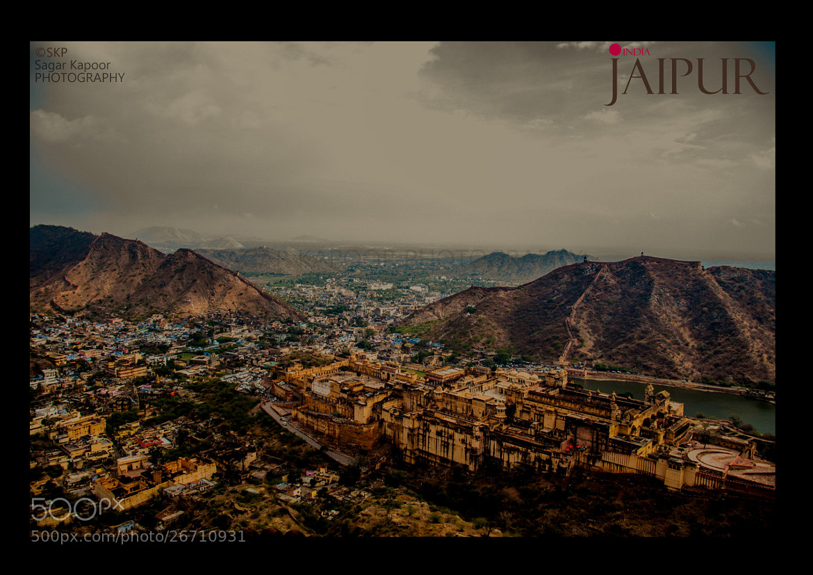 Photograph  AMER FORT AND THE CITY  by Sagar Kapoor on 500px
