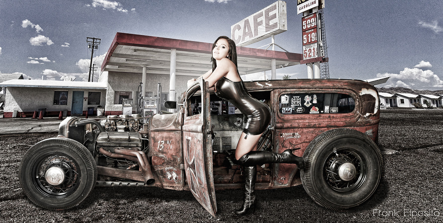 Photograph Fetish on car by frank elposito on 500px