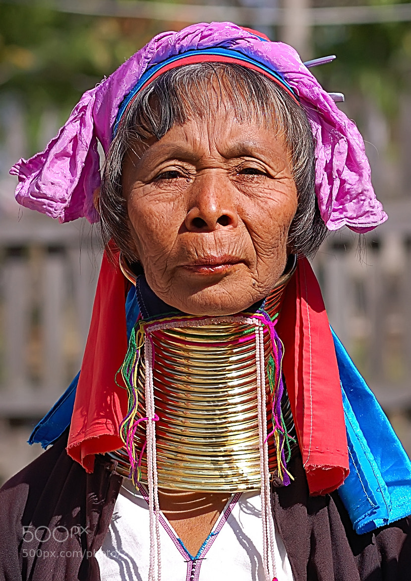 Photograph Long-Necked Woman by Csilla Zelko on 500px