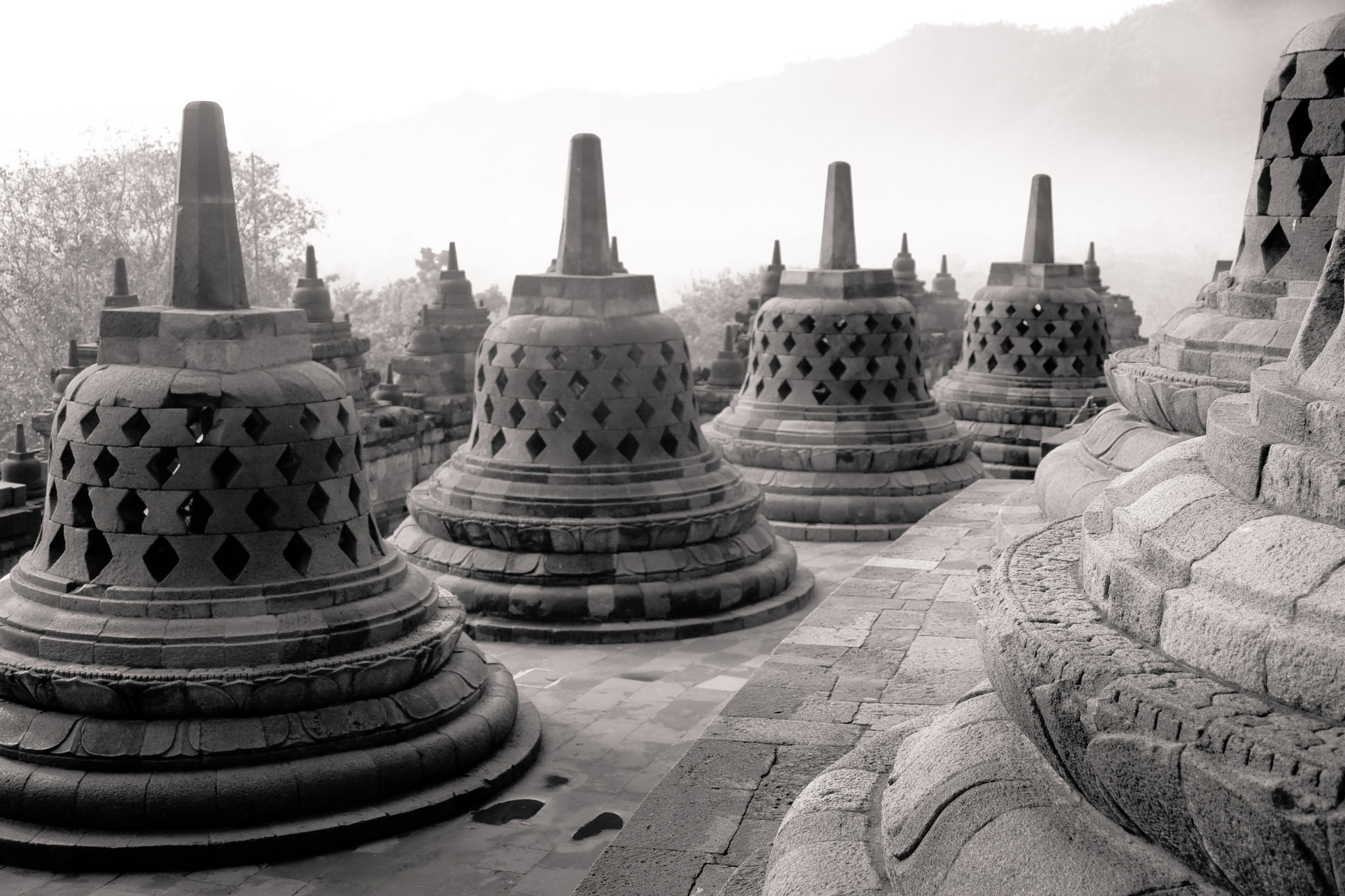 Photograph Stupa - Borobudur by Olivier Bergeron on 500px