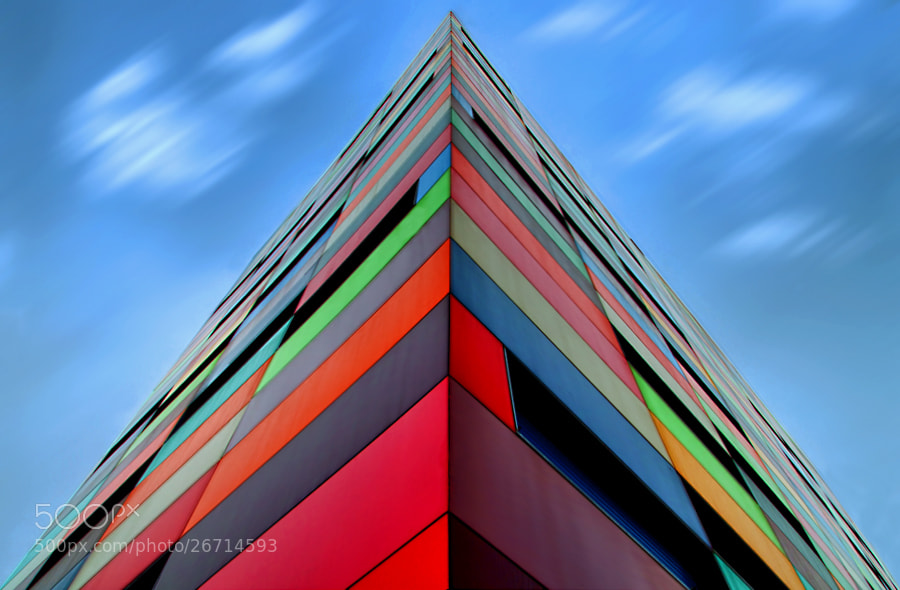 Photograph Color Pyramid by Alfon No on 500px