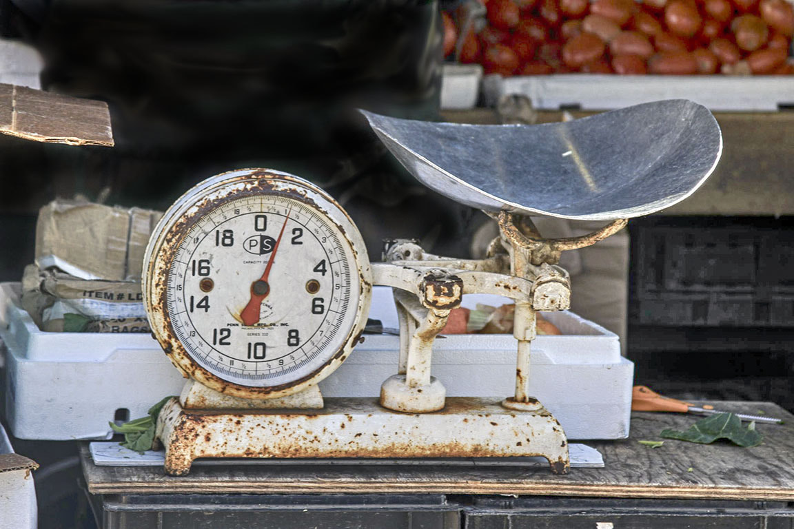 Photograph Old Scale. . . by Sonny Hamauchi on 500px