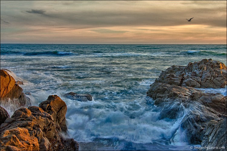 Photograph Waves - HDR by Laurie Rubin on 500px