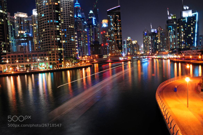 Photograph Dubai Nightlife by Shaun Fernandes on 500px