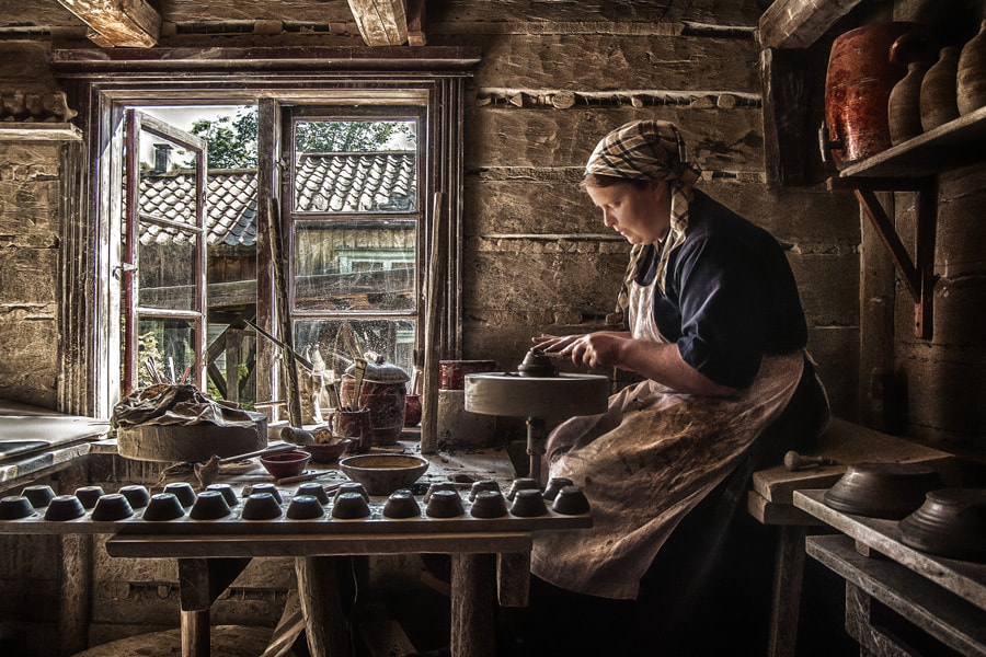 "Photograph ""Story of a potter"" by Janne Olkkonen on 500px"