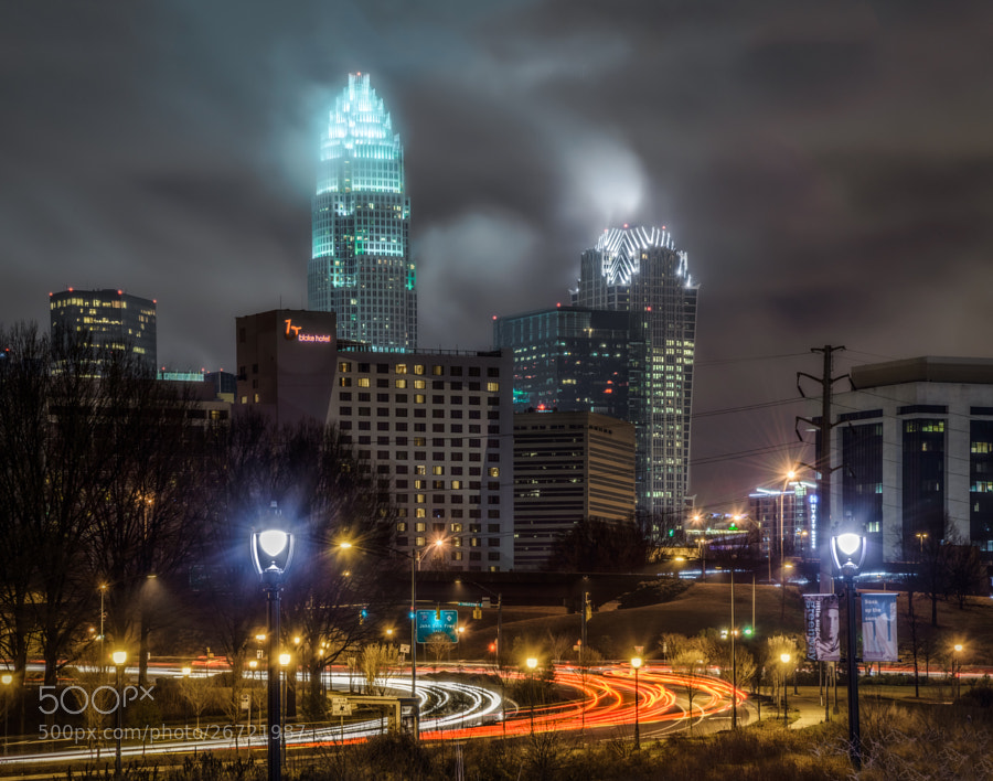 Photograph A Rainy Night In Charlotte by Greg Padgett on 500px