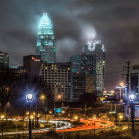 A Rainy Night In Charlotte by Greg Padgett (gregp701)) on 500px.com