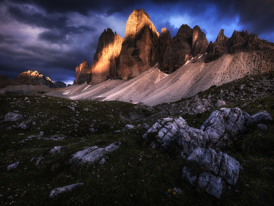 Drama in the Alps by Daniel Fleischhacker on 500px.com