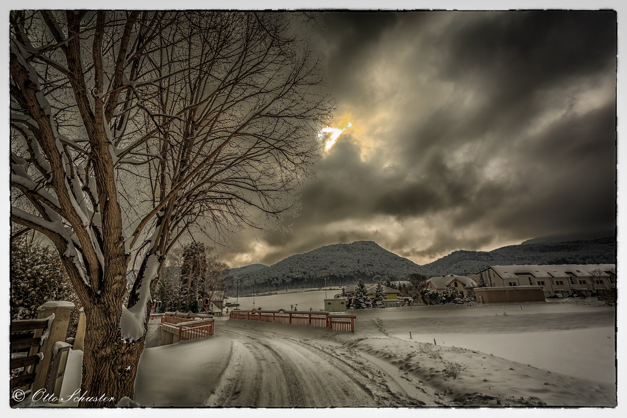 Photograph Winterstorm by Otto Schuster on 500px