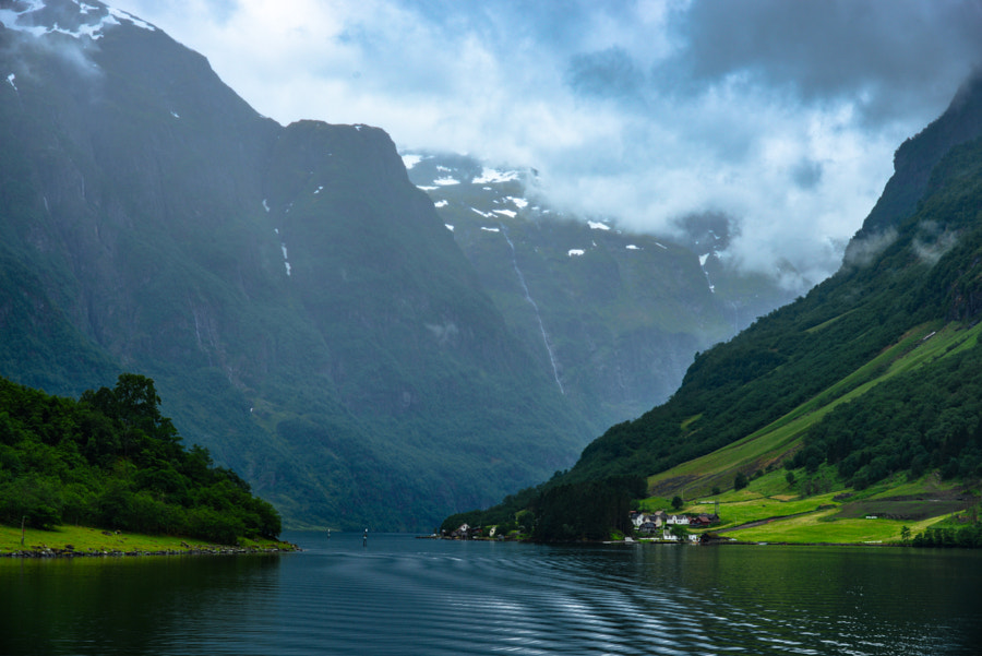 The Nærøyfjord by Levent Yucelman on 500px.com