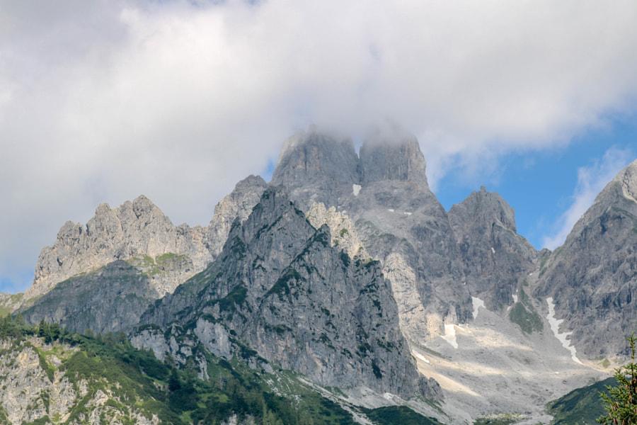 Berge, Wolken & Nebel, eine wunderbare Kombi... by i_mayr on 500px.com