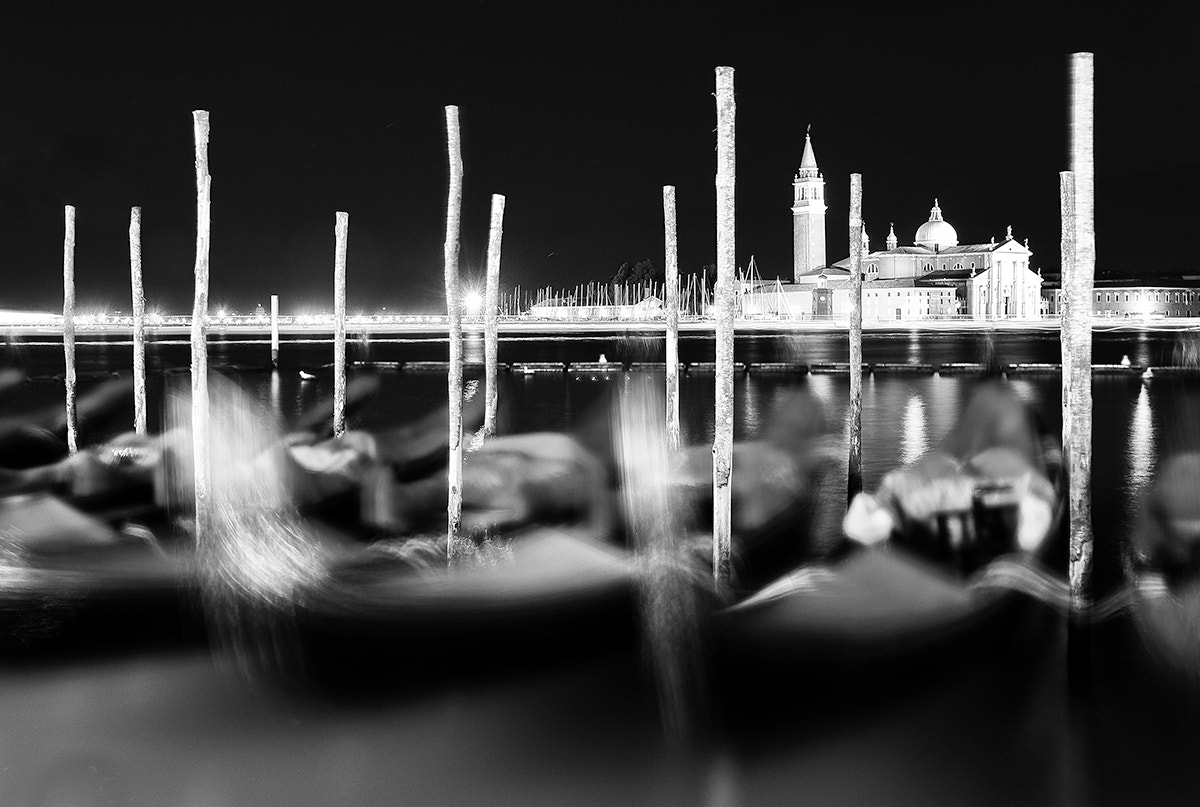 Photograph Gondolas moving_Venice by Manuel Romeo on 500px