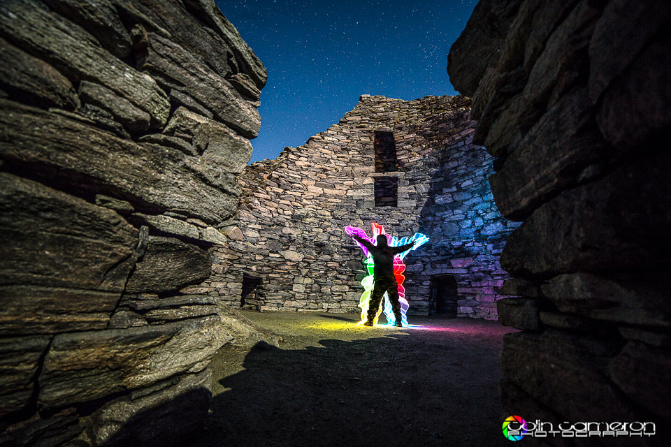 Photograph Rainbow Guy in the Broch by Colin Cameron on 500px