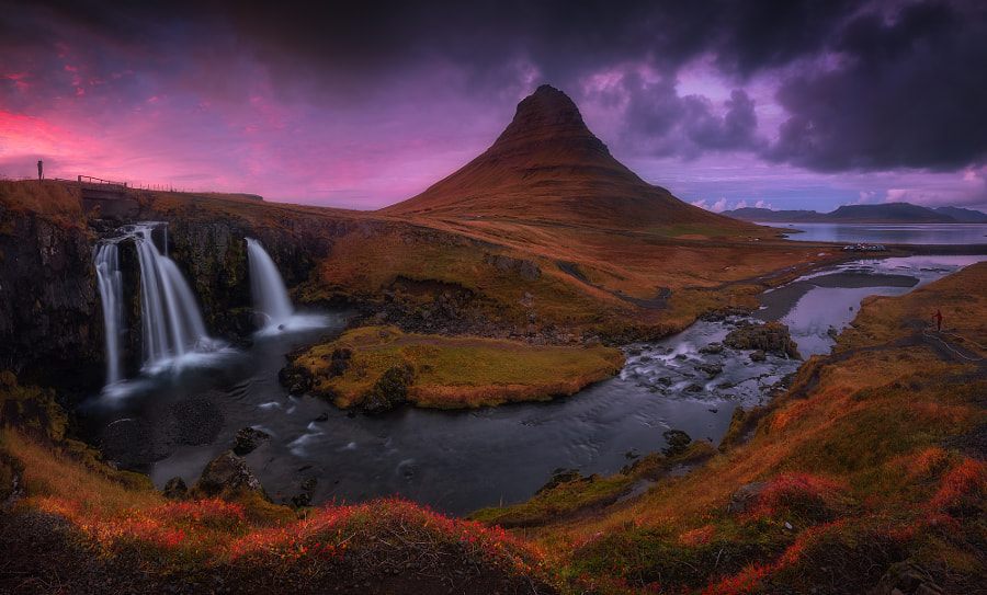 kirkjufellsfoss panorama by roblfc1892 roberto pavic on 500px.com
