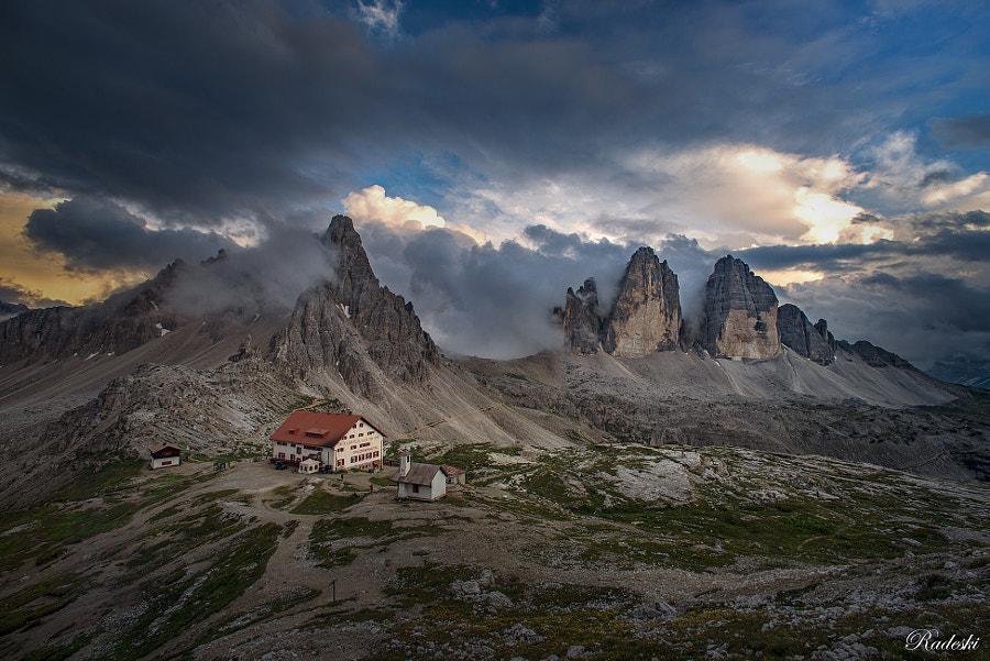 Temporale sulle tre cime by Roberto Aldrovandi on 500px.com