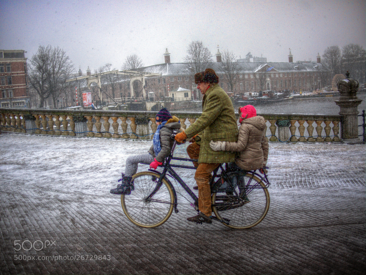 Photograph Snowing in Amsterdam by Igor 29768 on 500px