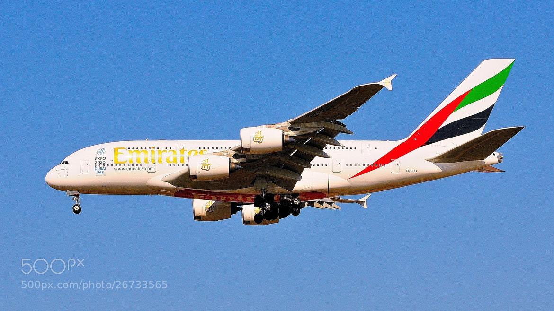 Photograph Airbus A380 de la by Joan Oliveras on 500px