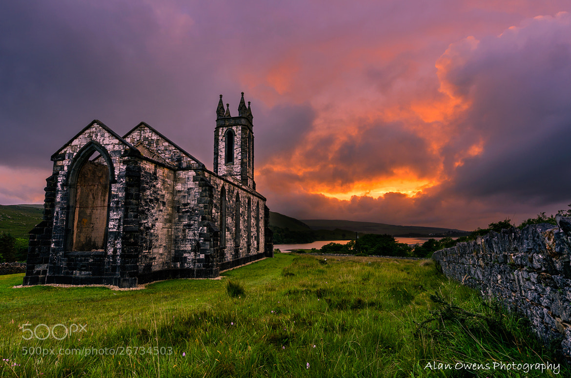 Photograph Dunlewey's Fire by Alan Owens on 500px
