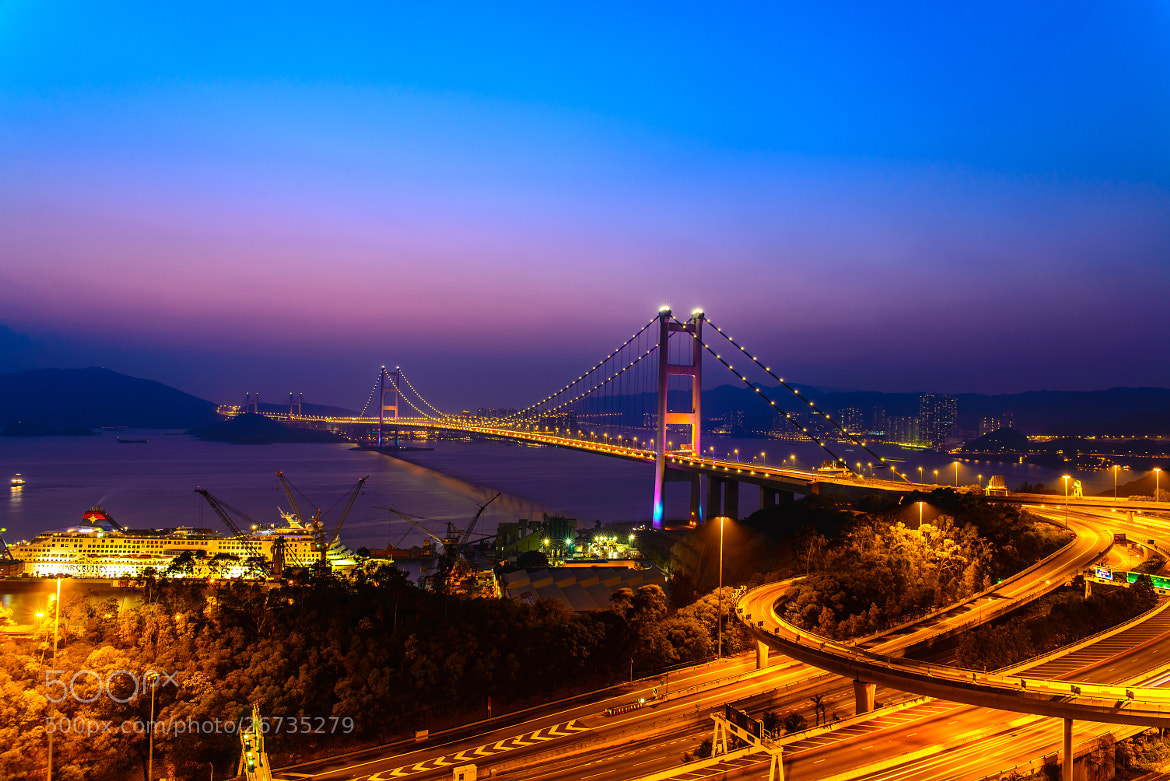 Photograph Tsing Ma Bridge by Hei Yu on 500px