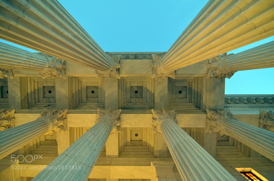 Photograph Universal House of Justice by Parham S. on 500px