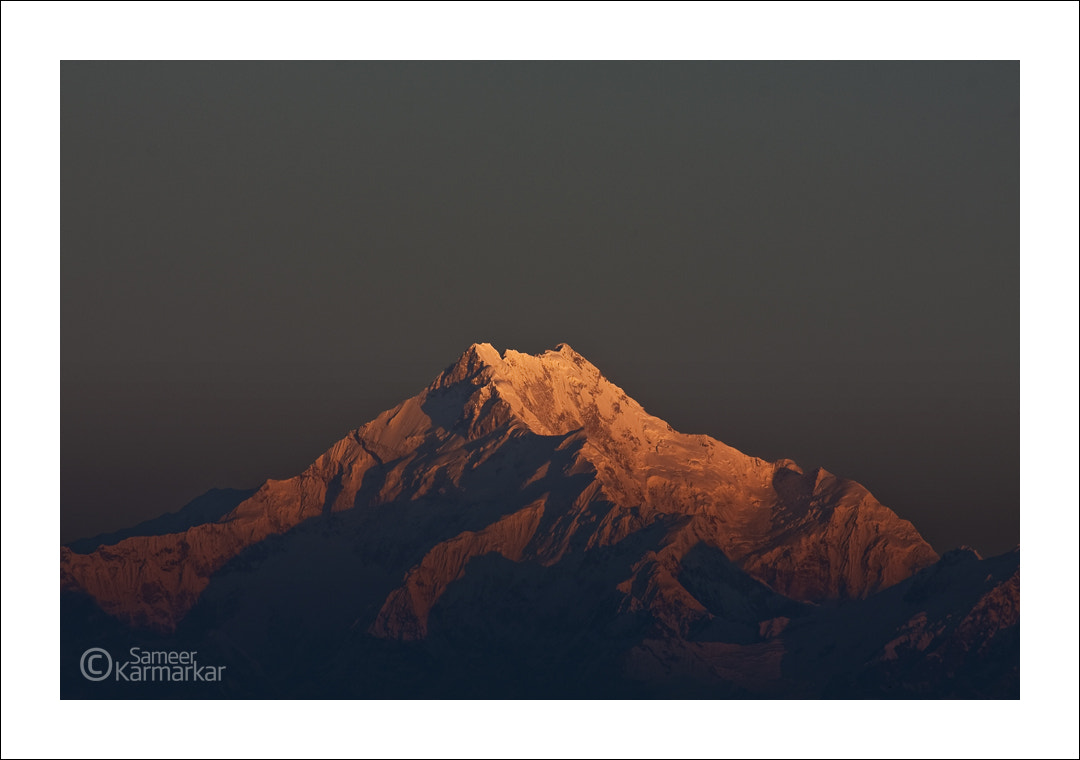 Photograph The Magnificient Kanchenjunga at Sunrise by Sameer Karmarkar on 500px