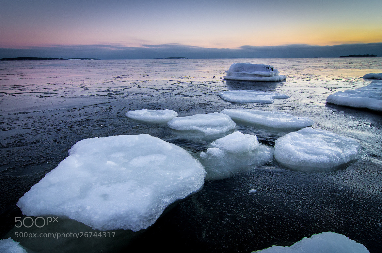 Photograph Ice Blocks by Marko Jortikka on 500px