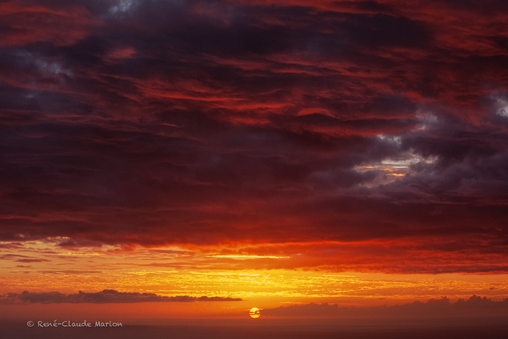 Photograph Red clouds by René-Claude Marion on 500px