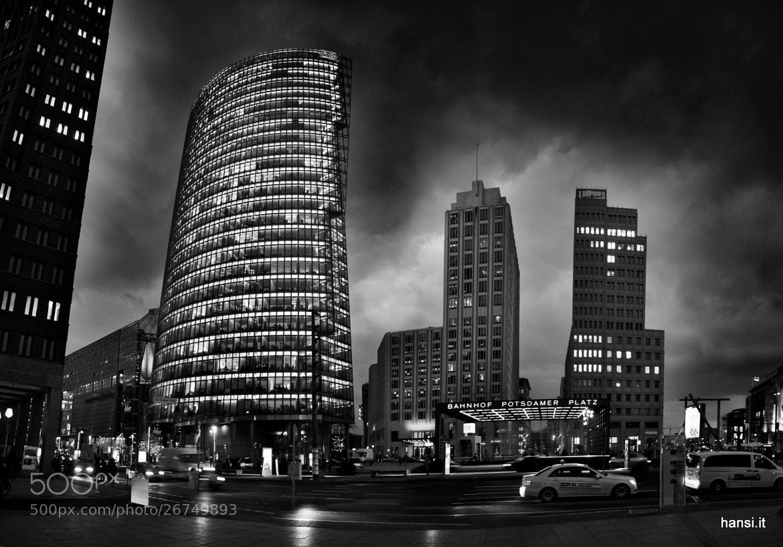 Photograph Berlin Potsdamer Platz by Hansi Weissensteiner on 500px