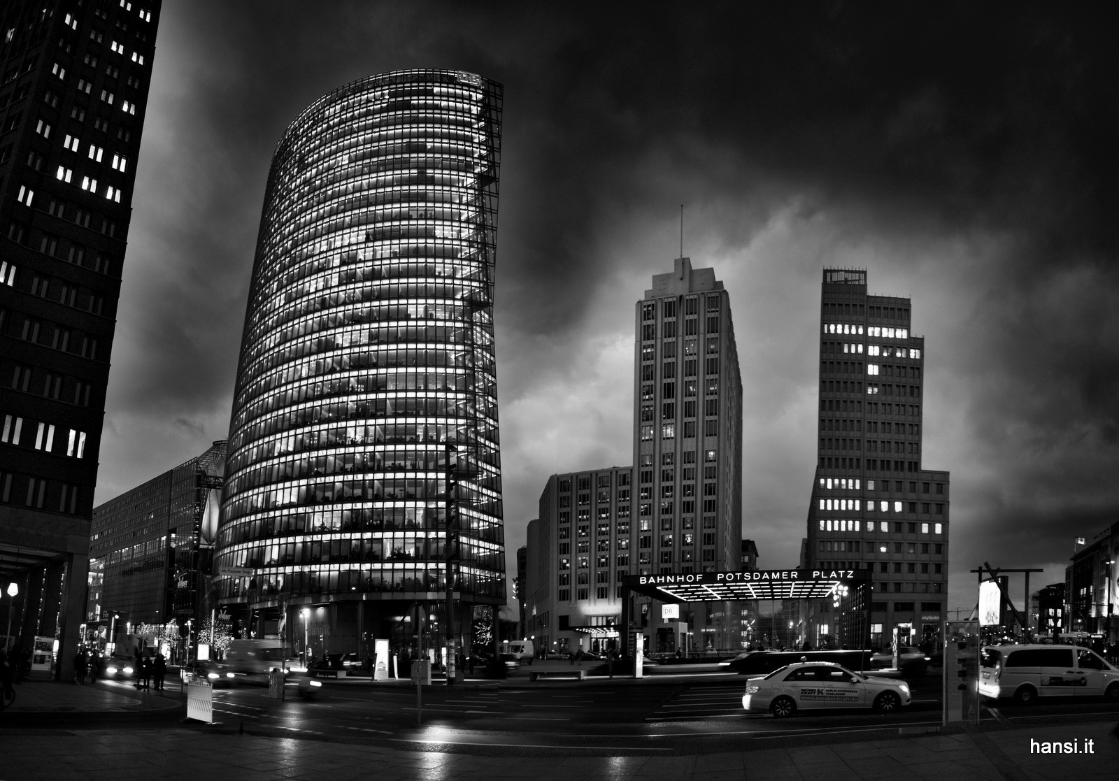 Photograph Berlin Potsdamer Platz by Hansi Weissensteiner on 500px