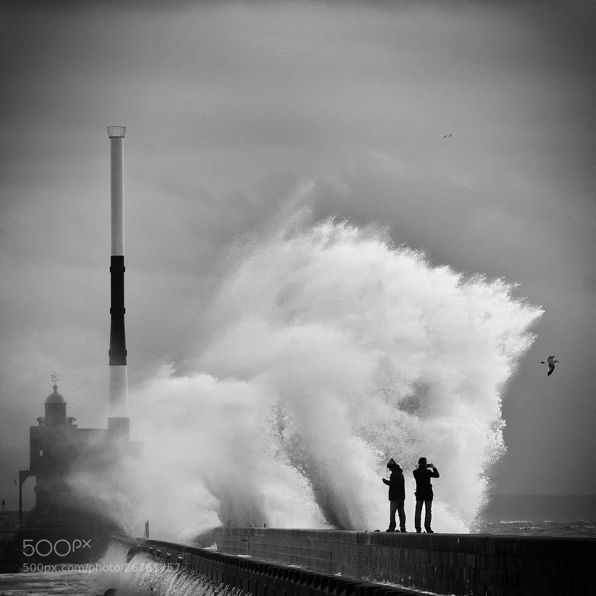 Photograph Storm in Le Havre - 1 by Patrice Carré on 500px