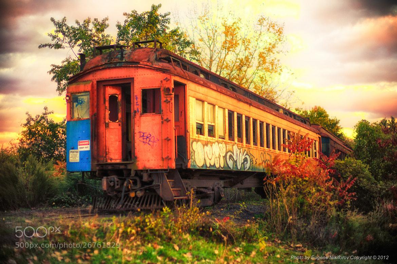 Photograph Train to nowhere, Stone Ridge, New York by Eugene Nikiforov on 500px