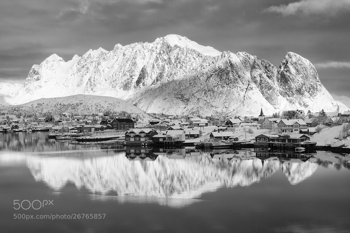 Photograph Reine in Mono by Daniel Hannabuss on 500px