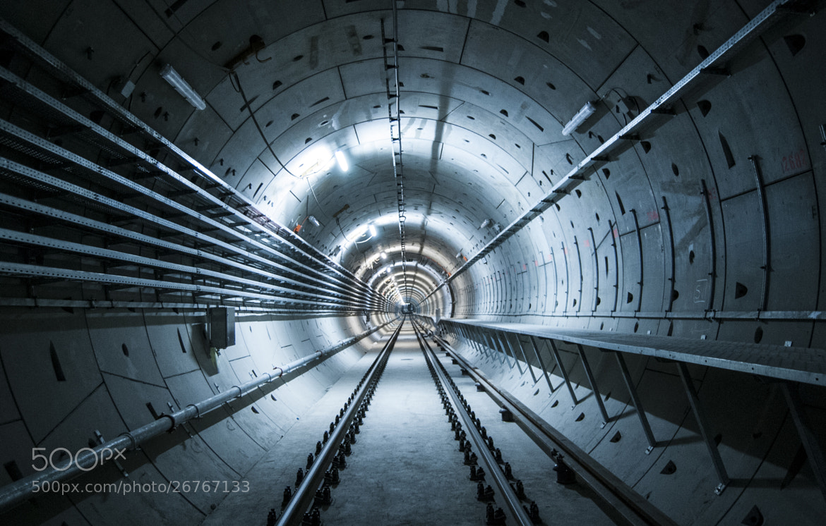 Photograph Metro Line 4 by Ágnes  Müller on 500px
