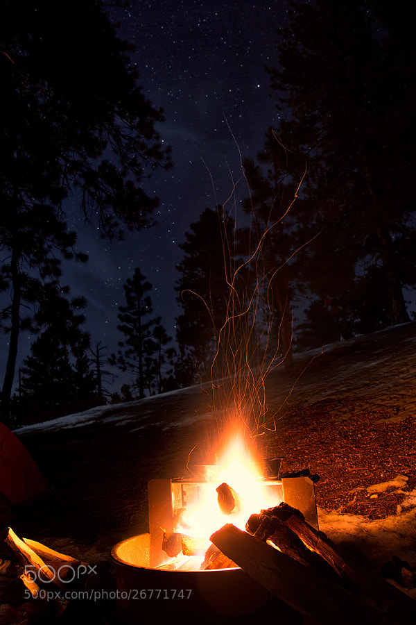 Photograph Camping Underneath the Stars by Paul Bajerczak on 500px
