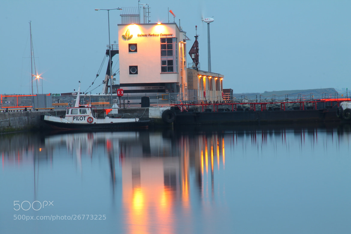 Photograph Pilot boat in Galway Docks by Damian Smith on 500px