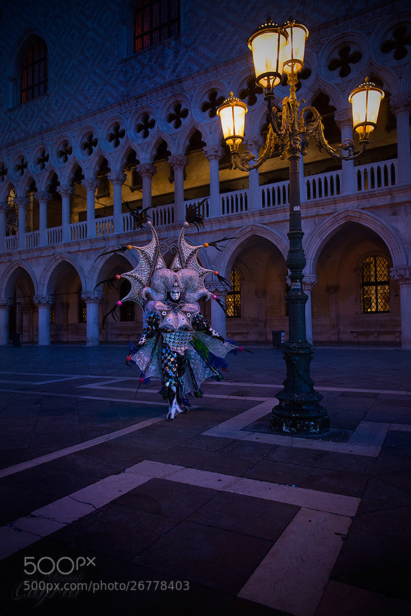 Photograph Patrice at the Venice Carnival by Manish Gajria on 500px