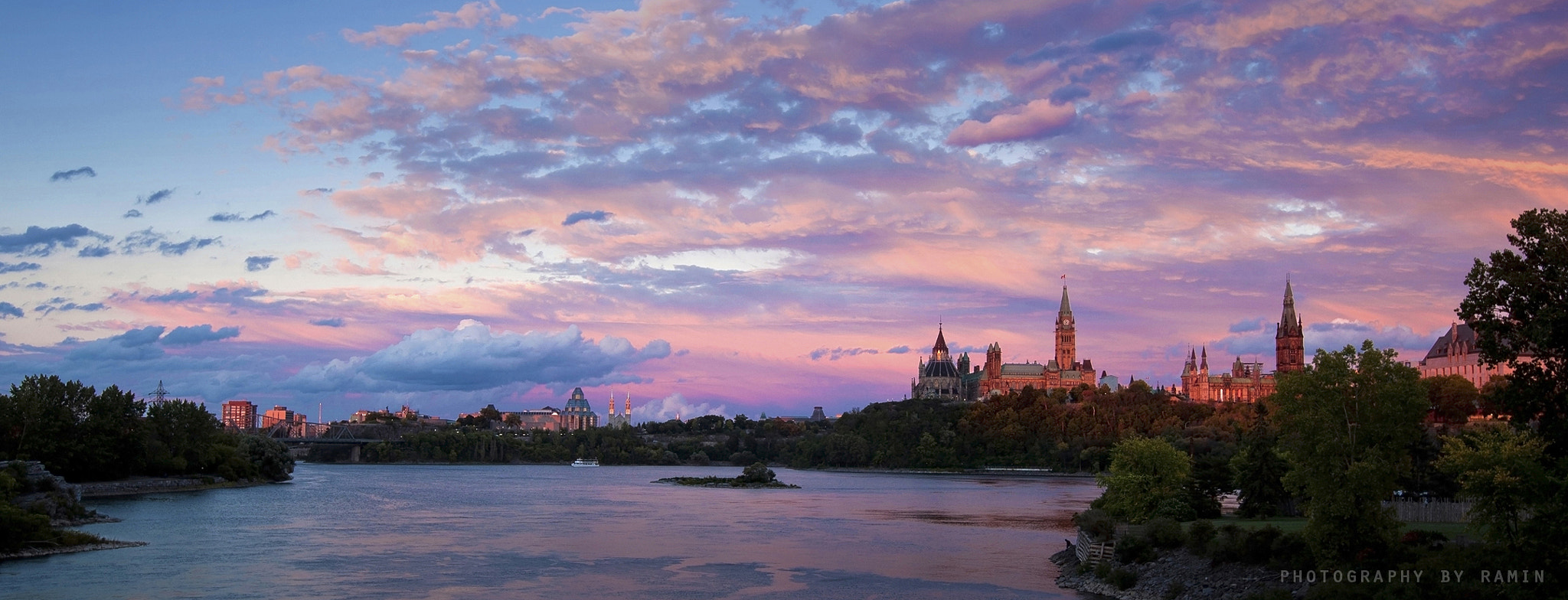 Photograph Sunset.......Ottawa  !!!! by Photography by Ramin  on 500px